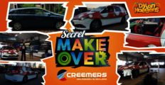 Secret ''Make-over'' carwrap voor Dylan Haegens